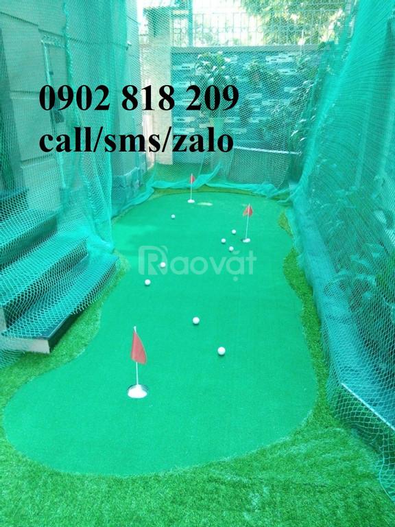 Lưới golf, lưới chắn bóng golf mắt 2.5cm