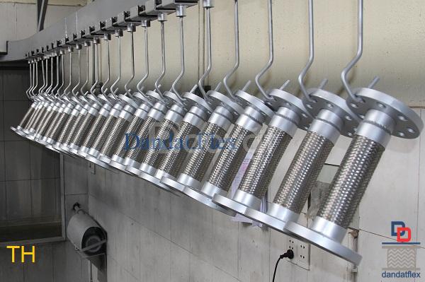 ISO 9001:2015 Dân Đạt SX:Bù trừ pasty/ống mềm giảm chấn/khớp co giãn