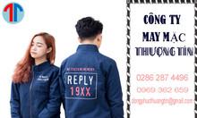 May áo khoác đồng phục theo yêu cầu tại TPHCM