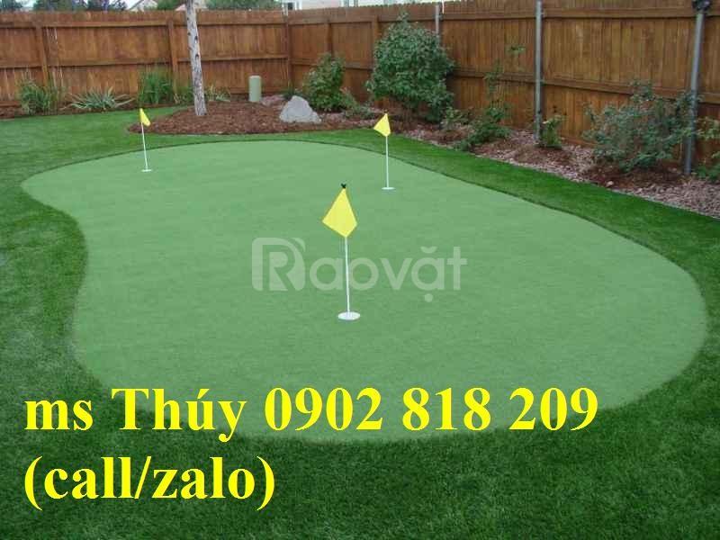 Cỏ golf nhân tạo, cỏ làm sân tập golf