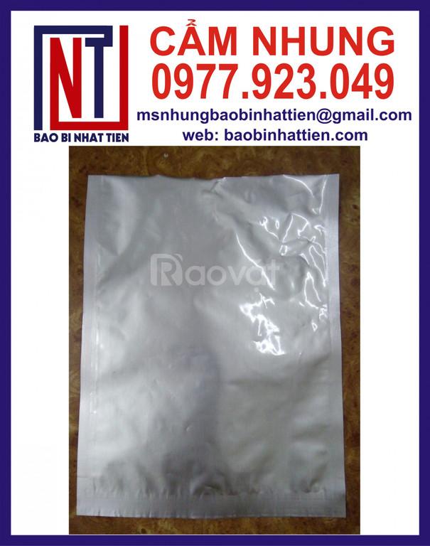 Túi bạc không in, chuyên sản xuất túi nhôm