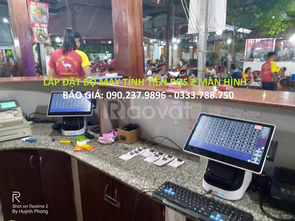 Bộ máy tính tiền cảm ứng giá rẻ cho quán cafe tại Bình Thạnh