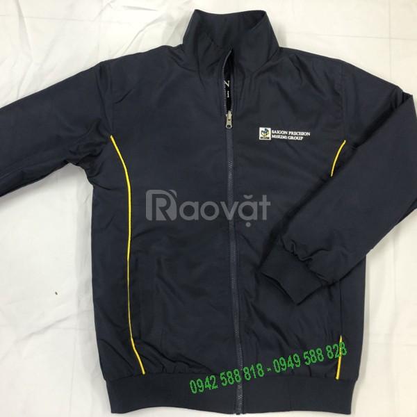 May áo gió, áo khoác đồng phục theo yêu cầu giá rẻ
