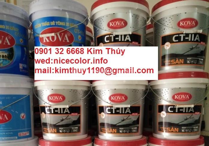 Nhà phân phối keo bóng nước KOVA Clear W giá rẻ Hà tĩnh