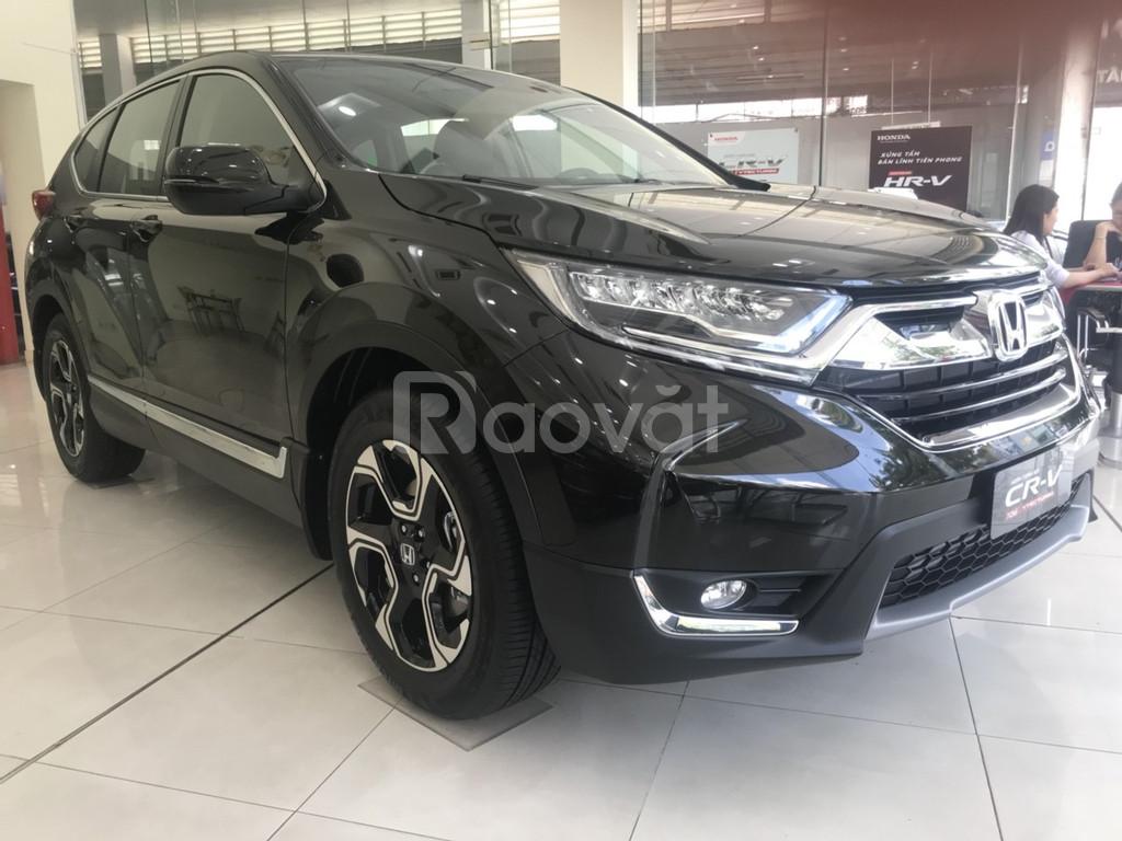 Honda CR-V nhập khẩu khuyến mã tháng 4