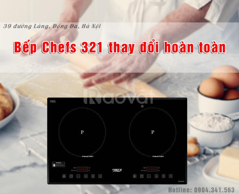 Bếp từ Chefs EH DIH321 thay đổi như thế nào trong năm 2019?