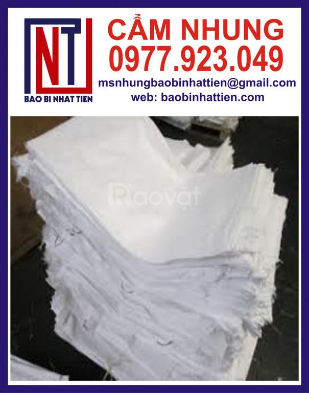Bao PP trắng đựng bột mịn