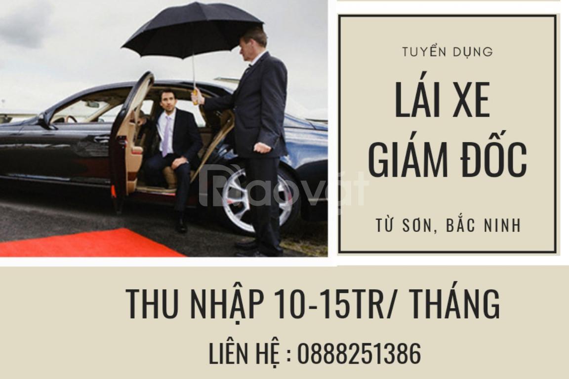 Tuyển lái xe giám đốc Công ty TNHH dịch vụ Trâu Ngon