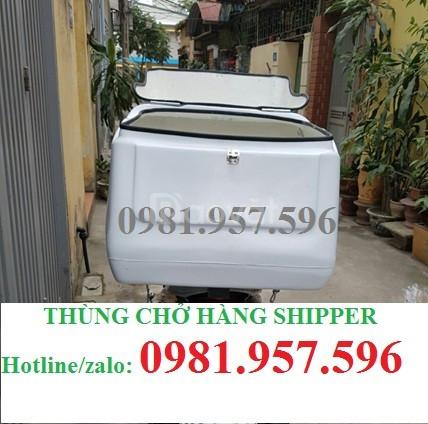 Cung cấp Thùng chở hàng shipper, thùng ship hàng giao hàng