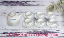 In bộ ấm trà tại Tam Kỳ Quảng Nam, gốm sứ quà tặng