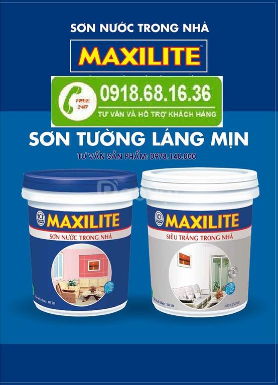 Tìm địa chỉ bán sơn nội thất Maxilite tại Bạc Liêu