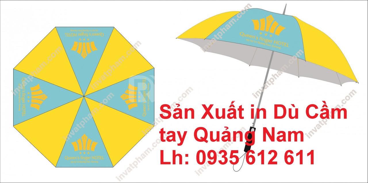 Sản xuất in dù cầm tay tại Quảng Nam