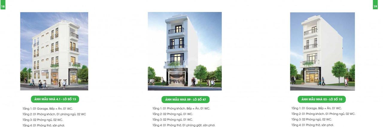 Nhà phố thương mại sang trọng - đẳng cấp ngay trung tâm TP Hải Phòng
