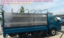 Giá bán xe tải 990kg, 1490kg, 1990kg, 2490kg tại BRVT.