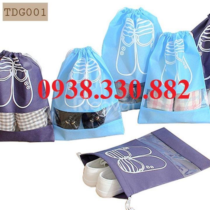 May túi vải cho các shop giày