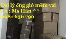 Chuyên bán ống gió mềm vải Hàn Quốc