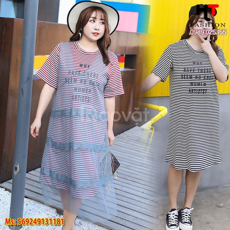 Váy đầm trung niên bigsize giá rẻ