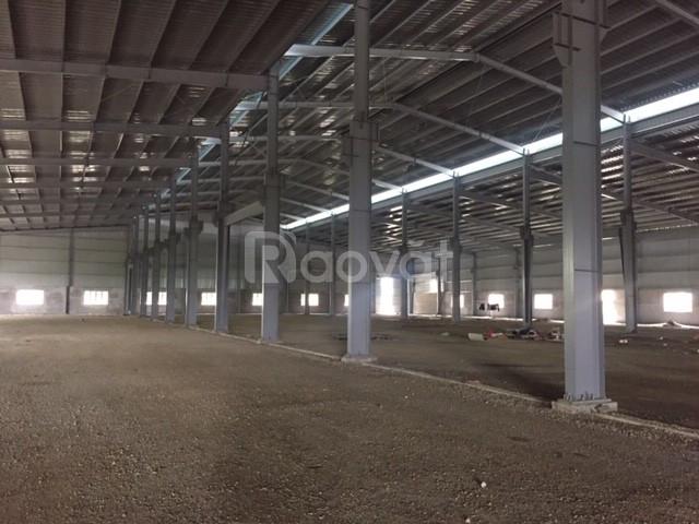 Cho thuê kho xưởng DT 6000m2, Bạch Sam, Mỹ Hào Hưng Yên