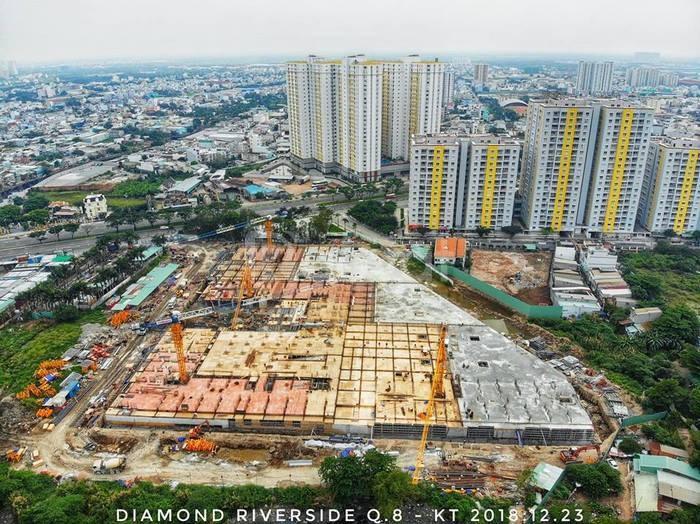Shophouse Diamond Riverside (City Gate 2), Đại lộ Võ Văn Kiệt, Quận 8