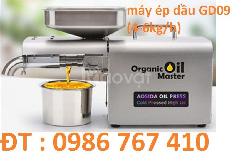 Máy ép dầu mini gia đình GD03,GD09 công nghệ Đức giá rẻ