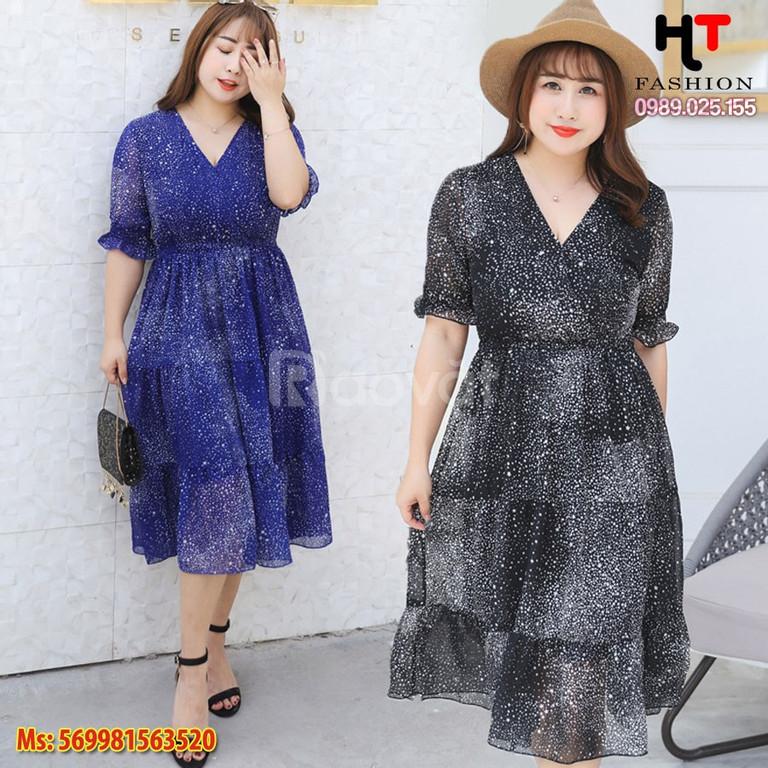 Váy đầm big size - Váy đầm trung niên nữ tại Hà Nội