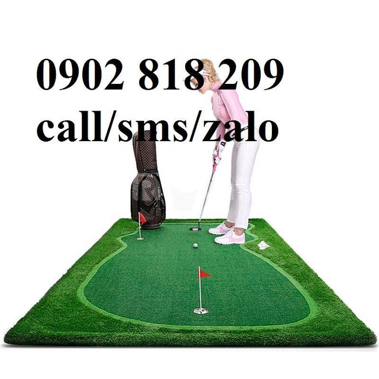 Thảm tập golf theo kích thước yêu cầu