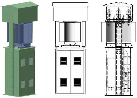 Sản xuất tủ bảng điện, thang máng cáp, nhà thầu M&E - Tuấn Huy Electri