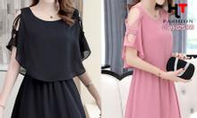 Quần áo bigsize - Váy đầm công sở nữ cho người béo bụng