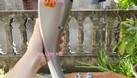 Máy massage cầm tay 11 đầu Hàn Quốc, gậy mát xa cầm tay rung đấm giảm  (ảnh 6)