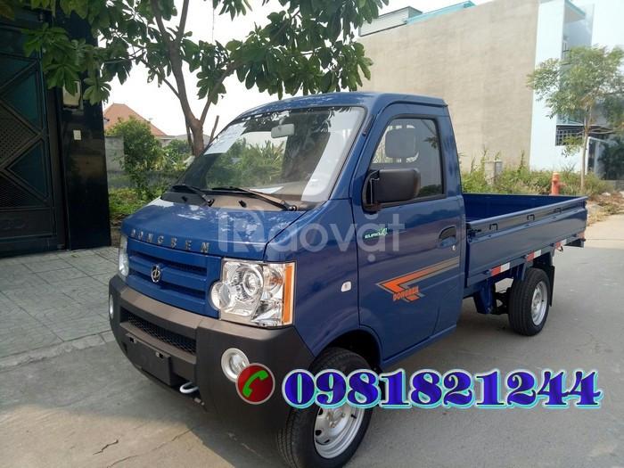 Xe tải Dongben Thùng Lửng 870kg được thiết kế nhỏ gọn, sang trọng.