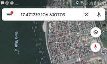 Bán đất 02 mặt tiền sau khách sạn Ban Mai, Quang Phú, Đồng Hới, Quảng