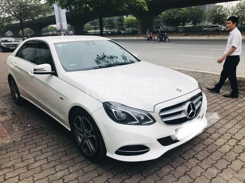 Bán Mercedes E200 ,sản xuất và đăng ký 2015,tên công ty,có hóa đơn VAT