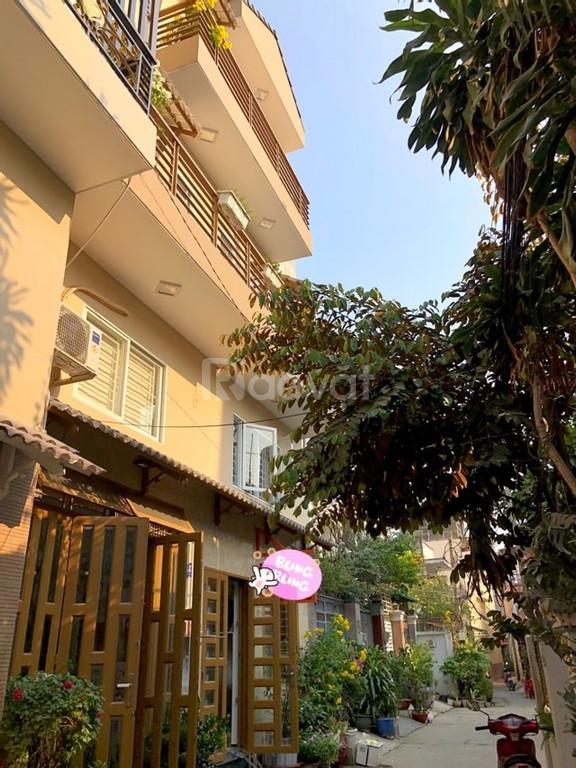 Bán nhà HXH Lê Văn Thọ, DT 50m2, 4 tầng, Giá 5 tỷ 400