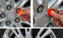 Bộ chụp ốc,trang trí ốc lazăng ô tô, xe hơi