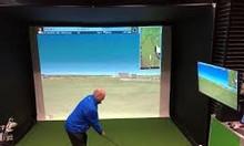 Thiết kế thi công phòng tập golf 3D, mini golf tại nhà