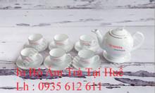 In bộ ấm trà tại Huế, xưởng in bộ ấm trà giá rẻ tại Huế