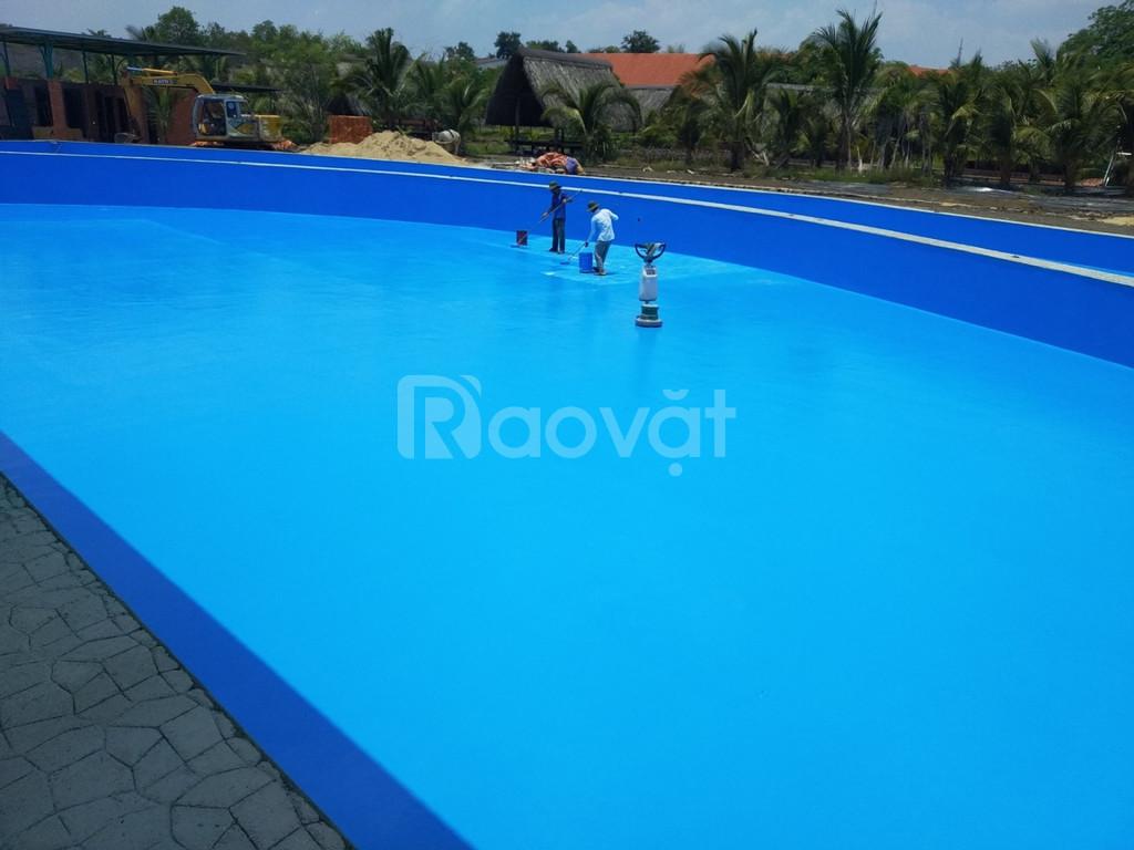 Thi công sơn hồ bơi chất lượng, giá tốt thị trường