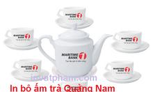 In bộ ấm trà Quảng Nam, In logo bộ ấm trà Quảng Nam