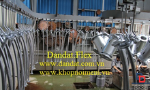 Khớp nối mềm chống rung inox, khớp nối mềm inox nối bích dn32