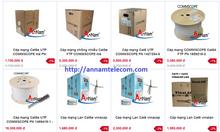 Tổng phân phối cáp mạng máy tính giá rẻ: cat5e utp/cat6utp/cat6a/cat7