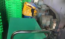 Thanh lý xe nâng mặt bàn tải trọng 150kg giá rẻ - Thùng nhựa rỗng