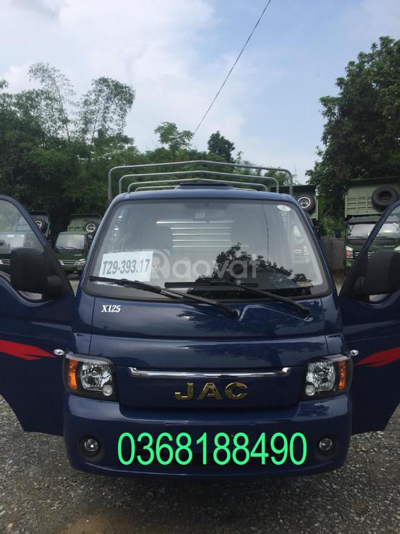 Xe tải JAC X150 tải trọng từ 990kg đến 1,5 tấn trả góp 70 triệu.