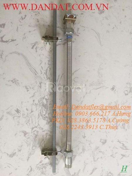 Dây cấp nước 50cm, ống mềm kết nối đầu phun chữa cháy DN25