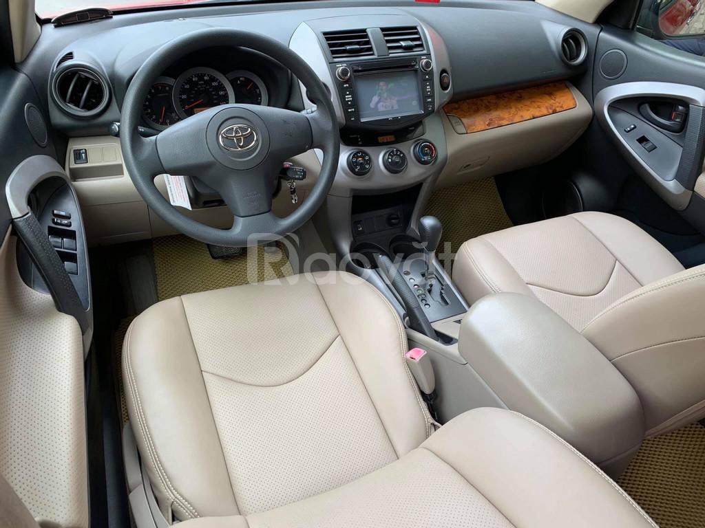 Cần bán Toyota RAV4 2.4 2008, màu đỏ, xe nhập, xe gia đình, bền bỉ