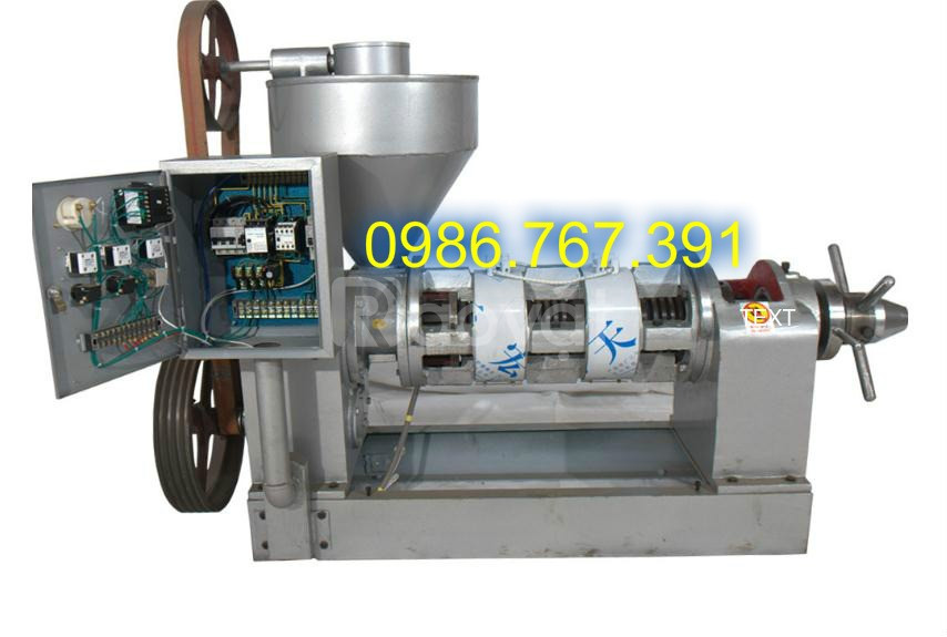 Máy ép dầu lạc công nghiệp 80kg/h