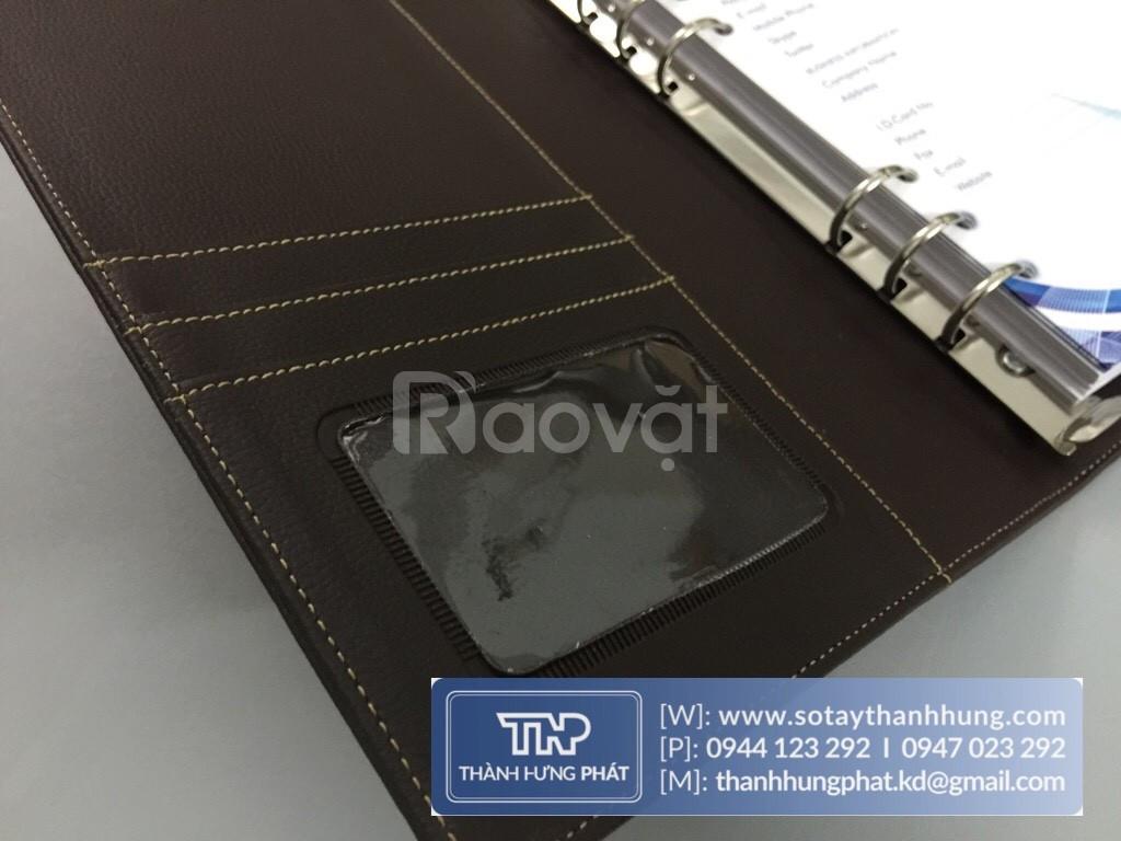Công ty sản xuất sổ tay bìa da cơ sở sản xuất sổ da quà tặng