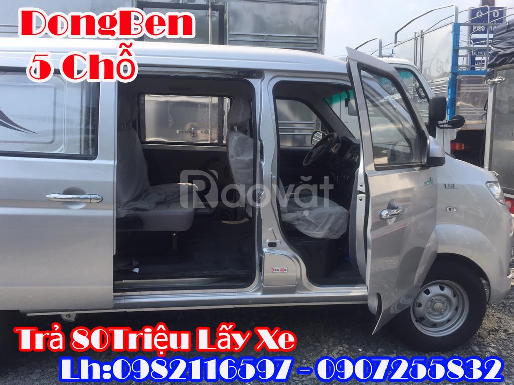 Xe Dongben van 5 chỗ 495kg đi vào thành phố giá tốt