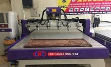 Máy cnc 6 đầu đục gỗ, máy cắt quảng cáo