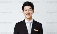 May đồng phục quản lý khách sạn đẹp, nhận thiết kế theo yêu cầu