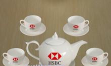 In bộ ấm trà giá rẻ Quảng Nam, in Bộ ấm trà bát tràng QUảng Nam